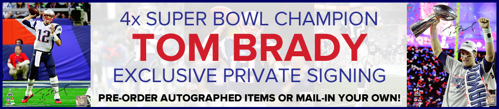 Tom Brady Private Autograph Signing