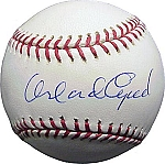 Orlando Cepeda Autographed Official ML Baseball