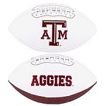 Texas A&M Signature Series Logo Football