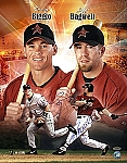 Jeff Bagwell & Craig Biggio Autographed Houston Astros 16x20 Photo