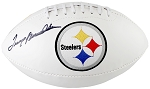 Terry Bradshaw Autographed Pittsburgh Steelers Logo Football