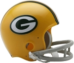 Green Bay Packers 61-79 Throwback Mini Helmet