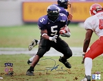 LaDainian Tomlinson Autographed TCU Horned Frogs 16x20 Photo