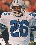 Michael Downs Autographed Dallas Cowboys Close-up 8x10 Photo