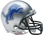 Detroit Lions 83-02 Throwback Mini Helmet