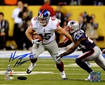 Henry Hynoski Autographed New York Giants SB XLVI 8x10 Photo