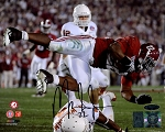 Mark Ingram Autographed Alabama Crimson Tide Diving 8x10 Photo