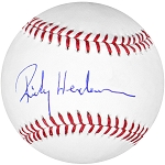 Rickey Henderson Autographed Official ML Baseball