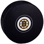 Boston Bruins Logo Puck