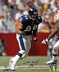 Michael McCrary Autographed Baltimore Ravens 8x10 Photo