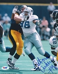 Antonio Anderson Autographed Dallas Cowboys 8x10 Photo