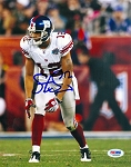Steve Smith Autographed New York Giants 8x10 Photo