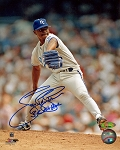 Tom Gordon Autographed Kansas City Royals Pitching 8x10 Photo