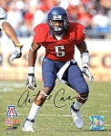 Antoine Cason Autographed Arizona Wildcats 8x10 Photo