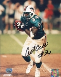 Cecil Collins Autographed Miami Dolphins 8x10 Photo