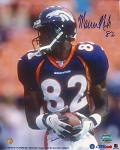 Marcus Nash Autographed Denver Broncos 8x10 Photo