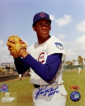 Fergie Jenkins Autographed Chicago Cubs Portrait 8x10 Photo Inscribed HOF 81