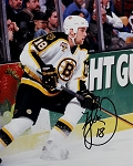 Kyle McLaren Autographed Boston Bruins 8x10 Photo