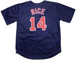 Jim Rice Autographed Boston Red Sox Custom Jersey