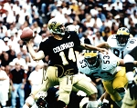 Koy Detmer Autographed Colorado Buffaloes 8x10 Photo
