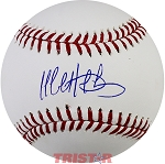 Matt Duffy Autographed Official ML Baseball