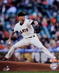 Tim Hudson Autographed San Francisco Giants 8x10 Photo