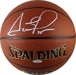 Scottie Pippen Autographed Spalding I/O NBA Basketball
