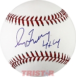 Greg Maddux Autographed Official ML Baseball Inscribed 4x CY
