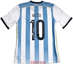 Lionel Messi Autographed Argentina Nike Authentic Jersey
