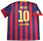 Lionel Messi Autographed Barcelona Nike Authentic Jersey