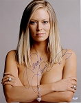 Jenna Jameson Autographed Famous Topless Pose 16x20 Photo