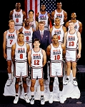Magic Johnson Autographed 1992 USA Olympic Dream Team 16x20 Photo