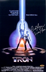 Cindy Morgan Autographed TRON 11x17 Movie Poster