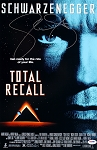 Sharon Stone Autographed Total Recall 11x17 Movie Poster