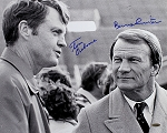 Tom Ozborne & Barry Switzer Autographed 16x20 Photo
