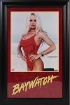 Pamela Anderson Autographed Baywatch 16x20 Photo Framed