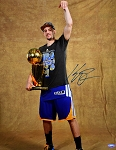 Klay Thompson Autographed Warriors Champions 16x20 Photo