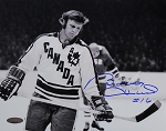 Bobby Hull Autographed Team Canada 8x10 Photo