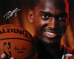 Bobby Portis Autographed Chicago Bulls Portriat 8x10 Photo