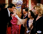 Chevy Chase Autographed European Vacation Greeting the Queen 8x10 Photo