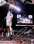 Jahlil Okafor Autographed Duke Final Four Slam Dunk 8x10 Photo
