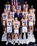 1992 USA Olympic Basetball Dream Team Autographed 16x20 Photo - 7 Signatures