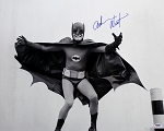 Adam West Autographed Batman 16x20 Photo