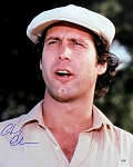 Chevy Chase Autographed Caddyshack Ty Webb Close-Up 16x20 Photo