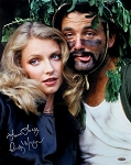 Cindy Morgan Autographed Caddyshack w/Bill Murray 16x20 Photo Inscribed Love Lacey