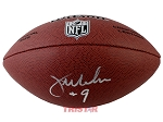 Jim McMahon Autographed Platinum NFL Official Size Football