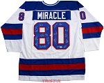 1980 USA Hockey Autographed Miracle On Ice Custom Jersey - 19 Signatures