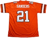 Barry Sanders Autographed Oklahoma State Jersey Inscribed Heisman 88
