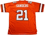 Barry Sanders Autographed Oklahoma State Cowboys Jersey