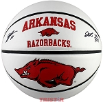 Bobby Portis Autographed Arkansas Razorbacks Basketball Inscribed 2015 SEC POY